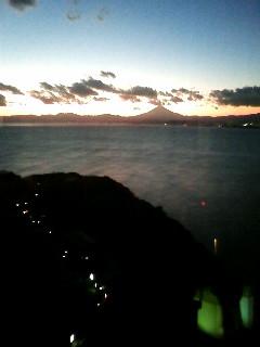 『江の島展望灯台』からの夕暮れ