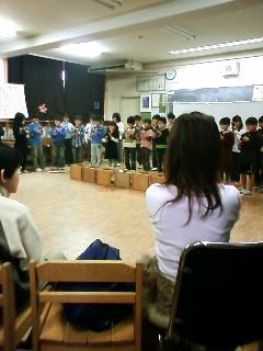 藤沢市立高谷小学校3年生の発表会