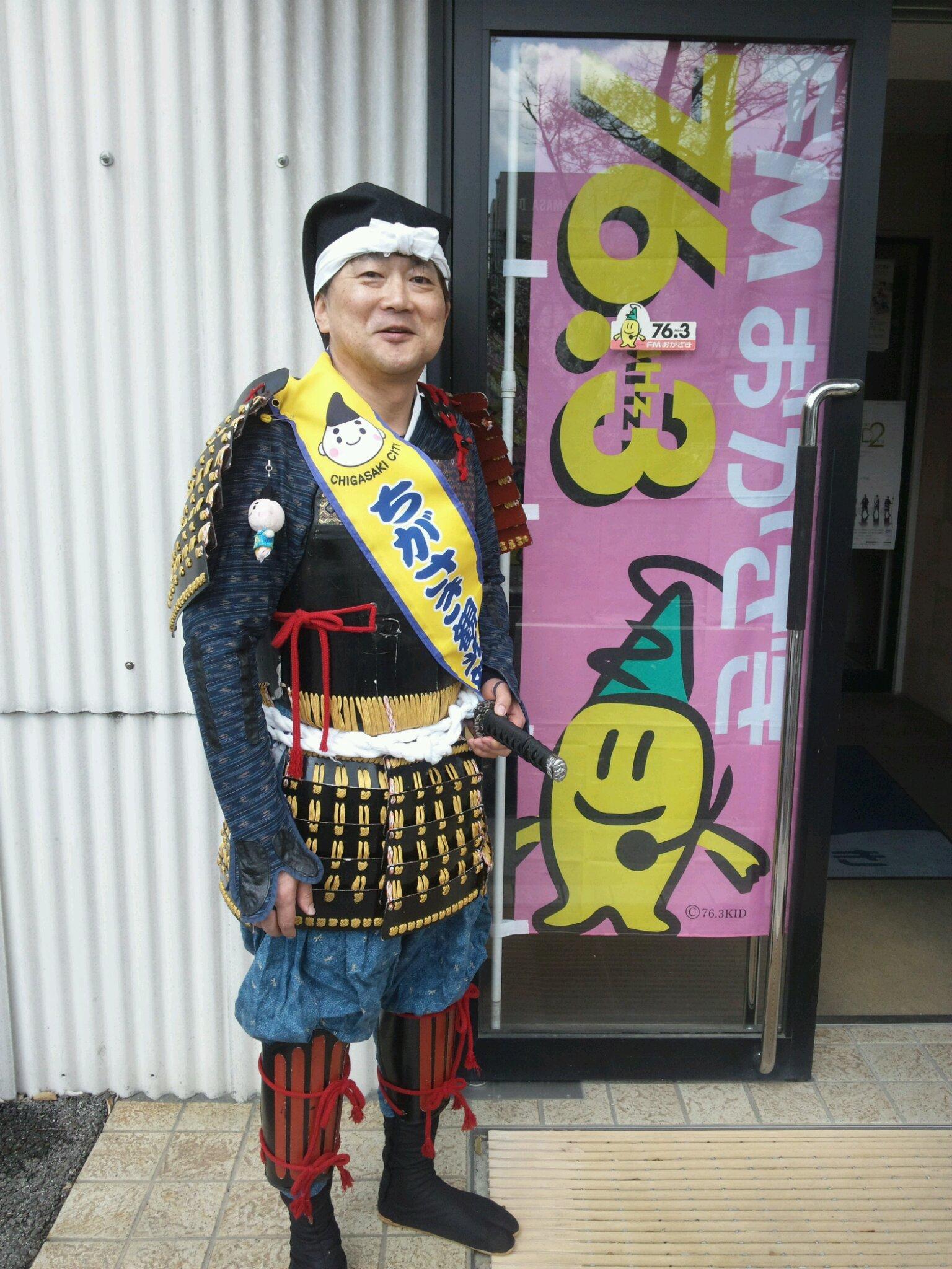 甲冑姿DJ・HAGGY